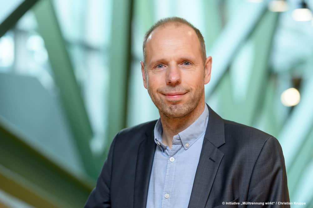 """Axel Subklew, Sprecher Der Kampagne """"Mülltrennung Wirkt"""""""