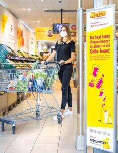 """Initiative """"Mülltrennung wirkt"""" bei Netto - wohin mit Plastikverpackung"""