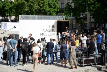 Great interest in the inauguration of the Plastic Museum