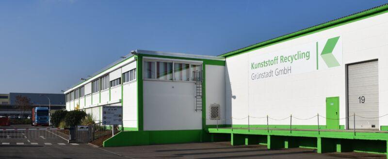 Kunststoff Recycling Grünstadt Gelben Sack