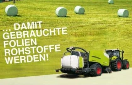 ERDE Recycling Freiwillige Selbstverpflichtung Agrarfolien