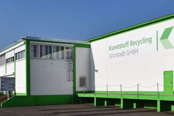 Grünstadt Gelber Sack Kunststoff Verpackung