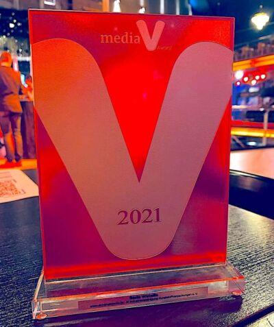 Media V Award Beste Website Fuer IK Industrievereinignung Kunststoffverpackungen, PlasticsEurope Und Fink Fuchs Foto Mara Hancker