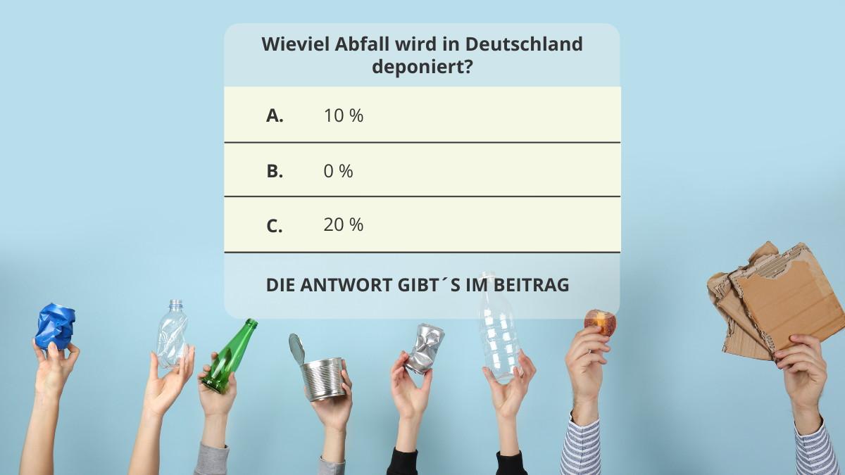 Kunststoffverpackungen-Recycling-Quiz-Auswertung